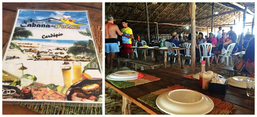 Lençóis Maranhenses - Restaurante Cabana do Peixe