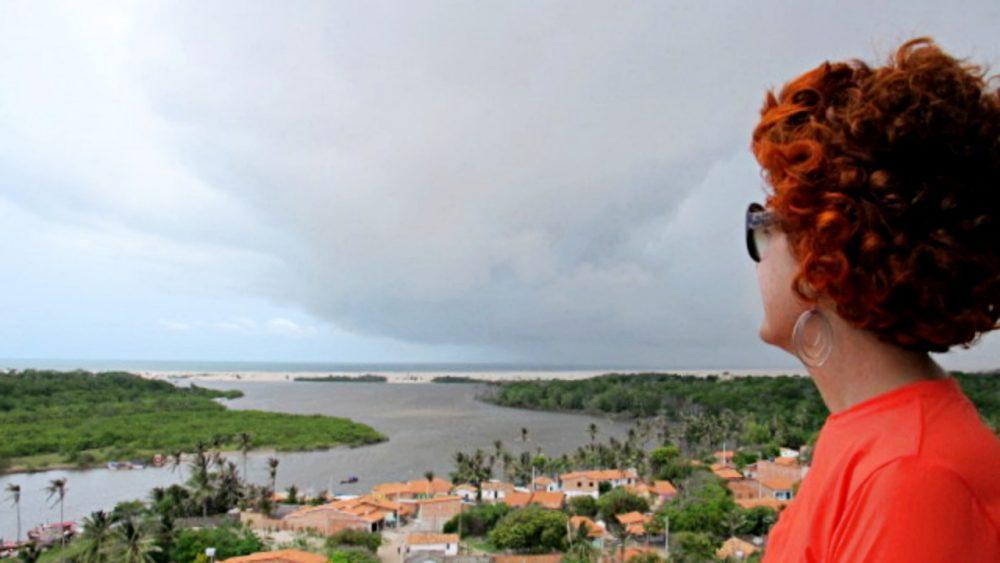 Lençóis Maranhenses - vista do encontro dorido com o mar