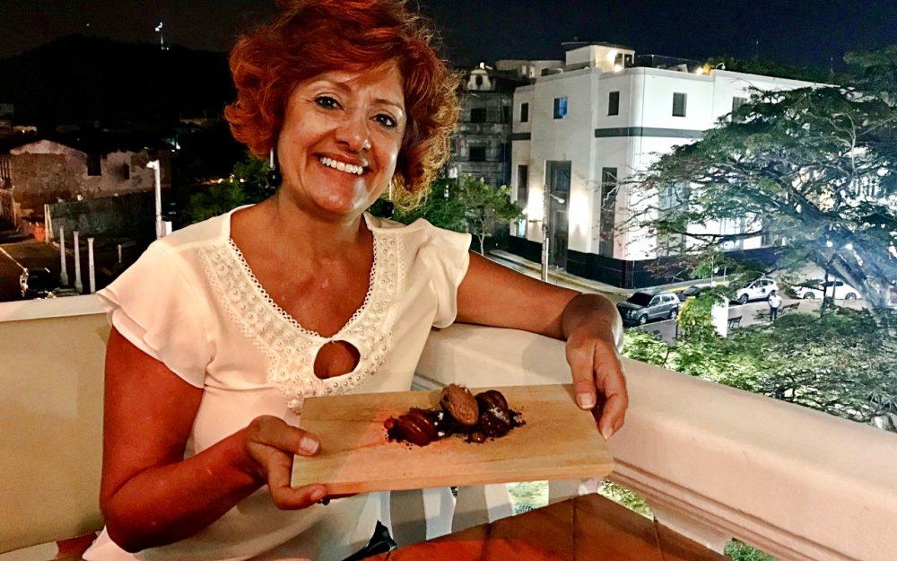 Marula Cocina Boutique - Sylvia Yano e a sobremesa