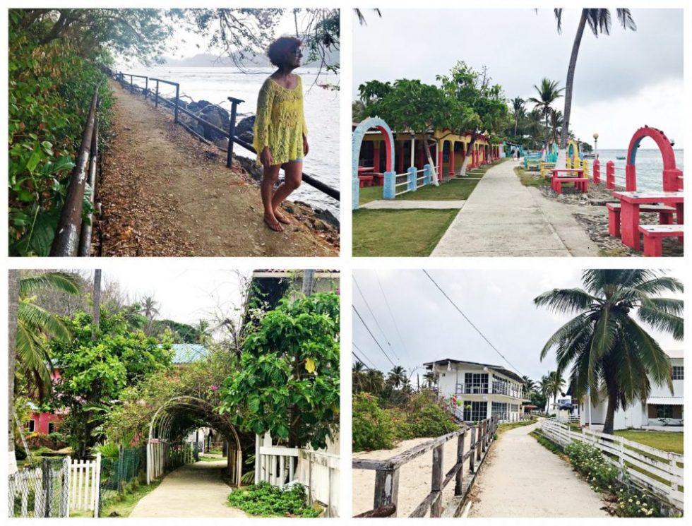Isla Grande Portobelo, volta na ilha - Panamá