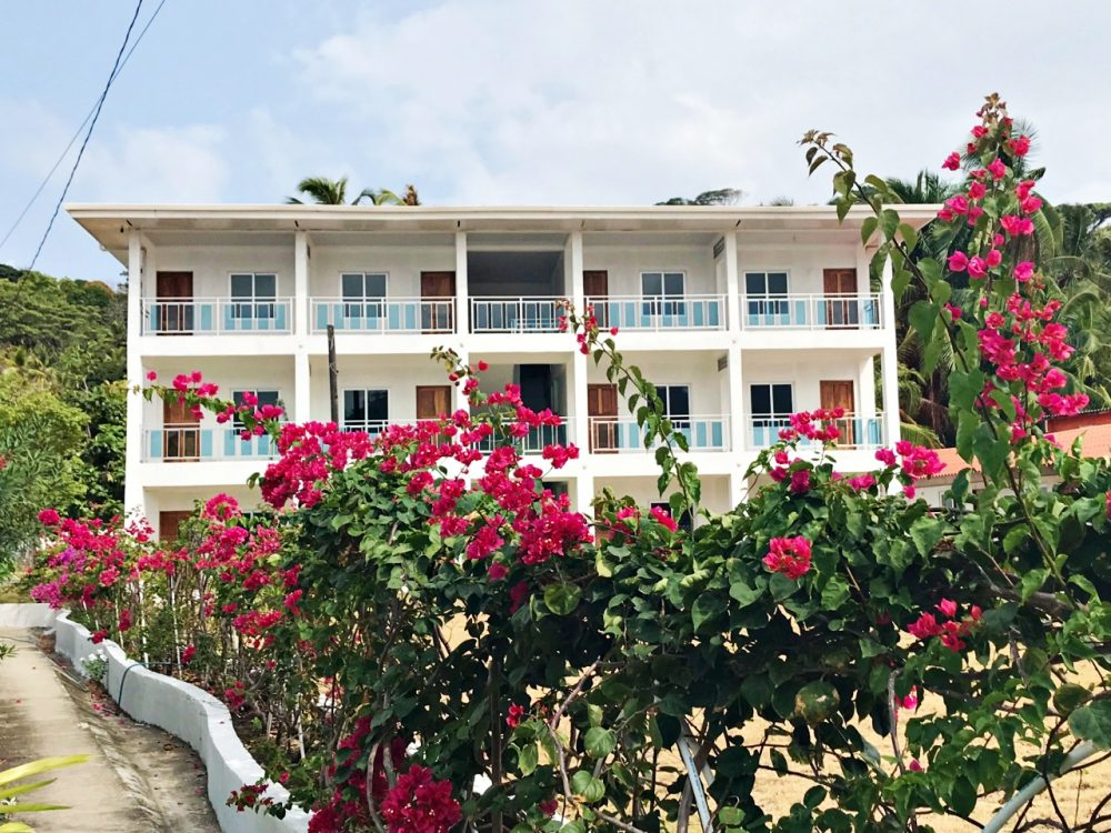 Isla Grande, construção e desenvolvimento