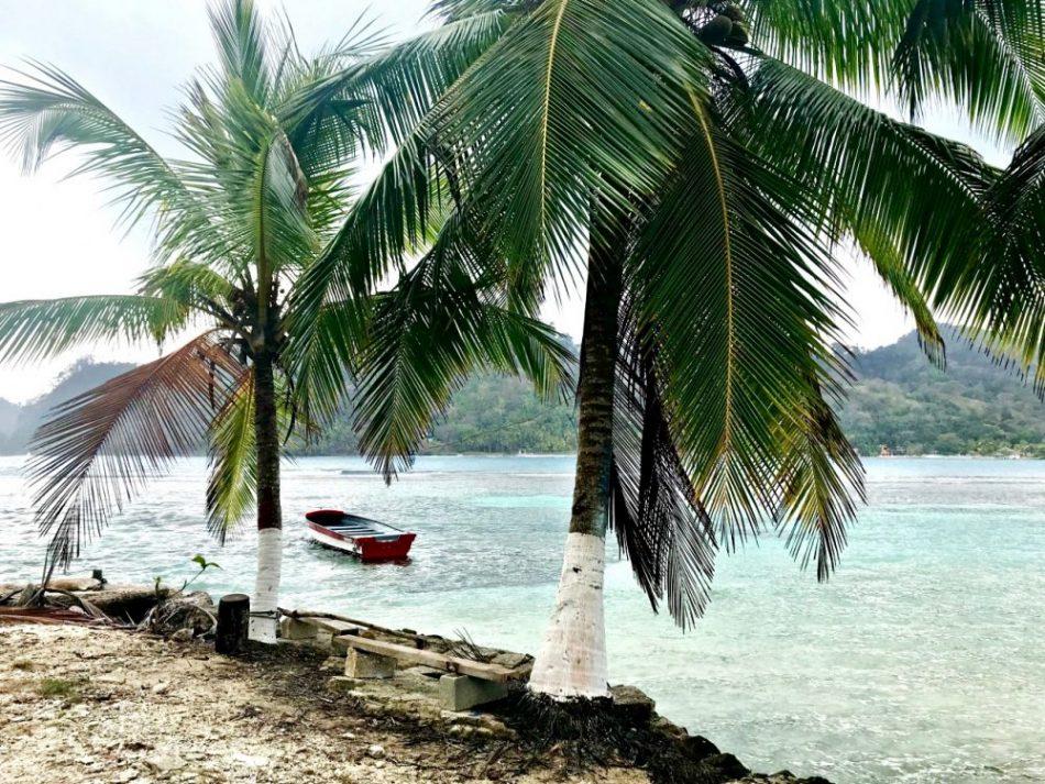 Isla Grande - praia
