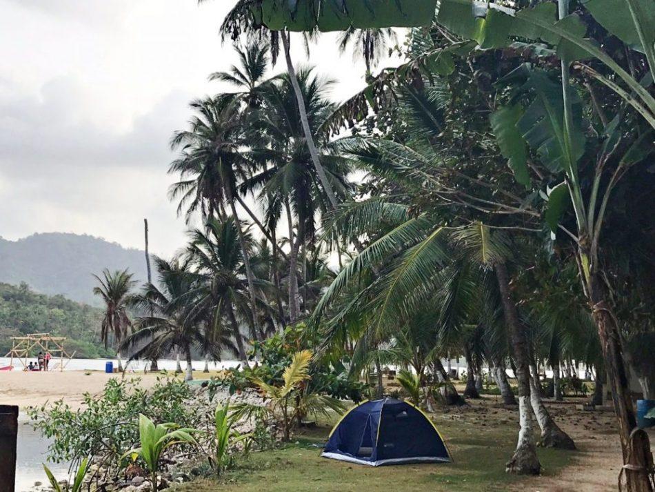 Acampar na Isla Mamey - Portobelo, Panamá