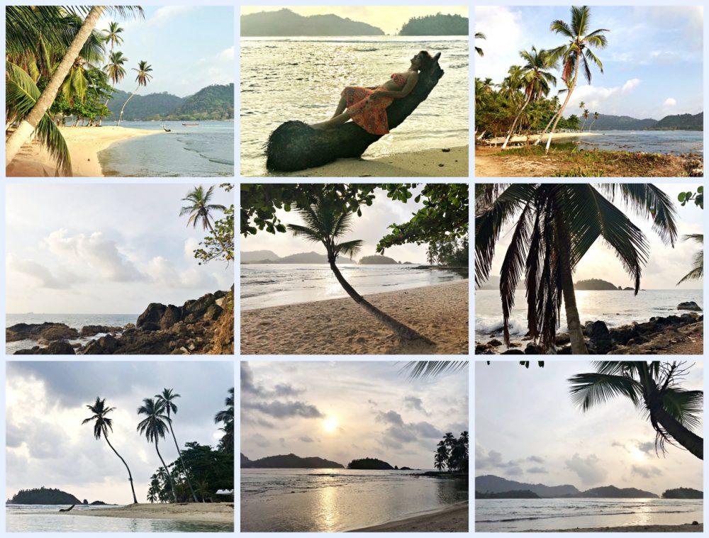 Isla Mamey - Portobelo, por-do-sol