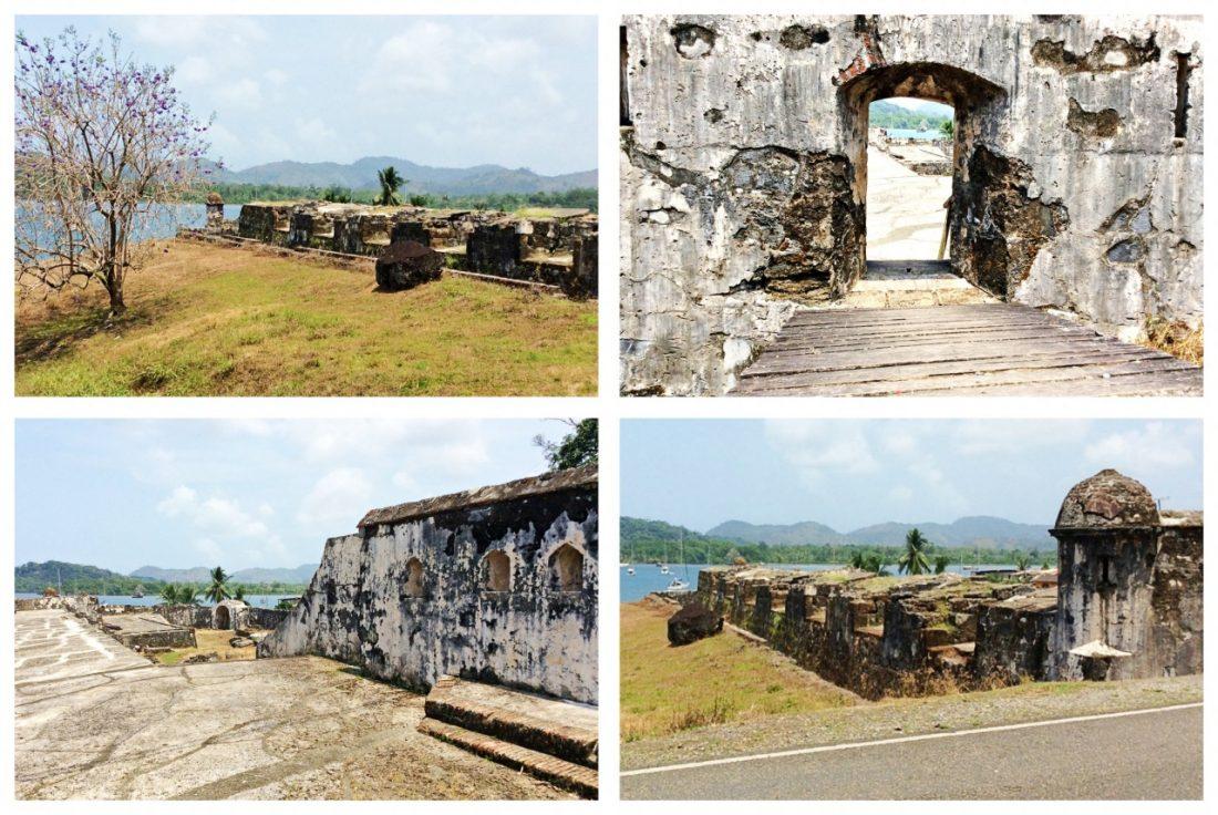Forte Santiago El Viejp, Portobelo, Panamá
