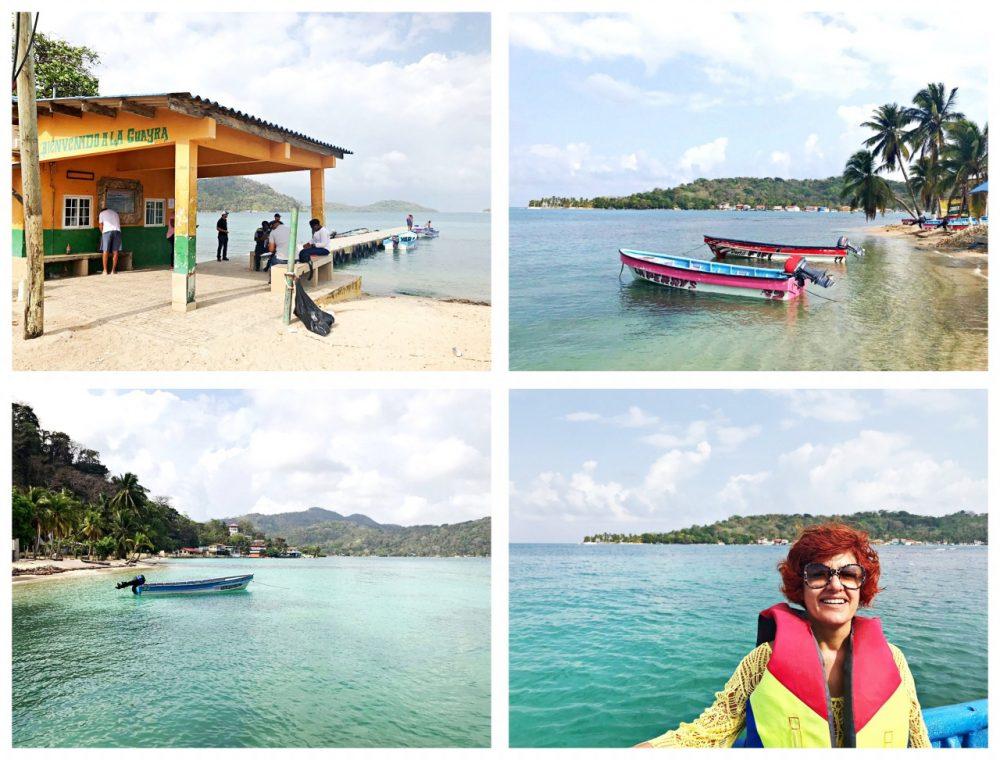 Guayra, saída dos barcos para Isla Grande