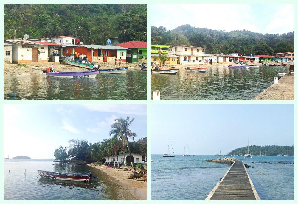 Povoado Portobelo - travessia para Isla Mamey