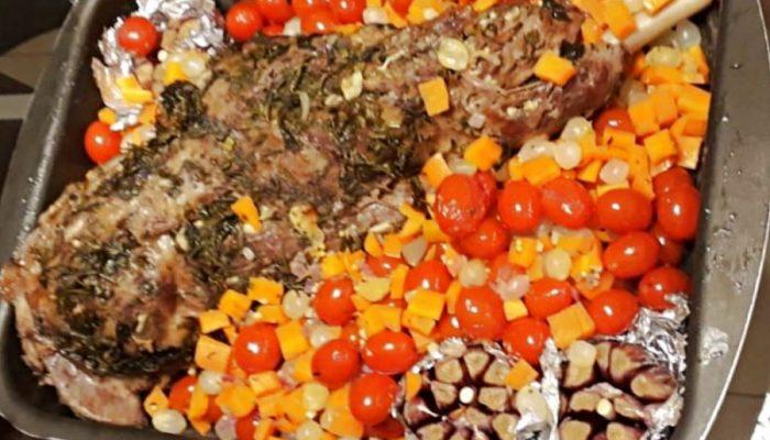 Pernil de cordeiro ao forno, receita – fácil de preparar