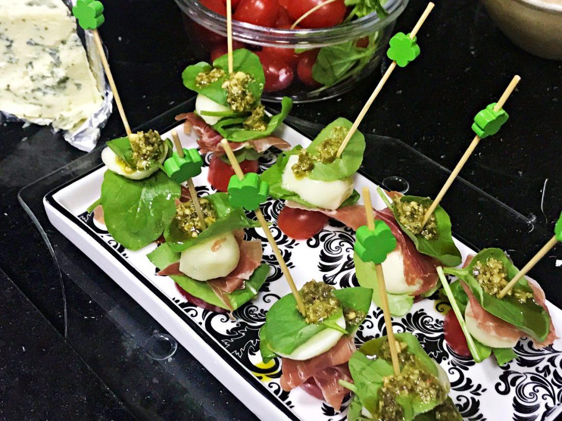 petiscos, Mussarela de Búfala,Tomate cereja