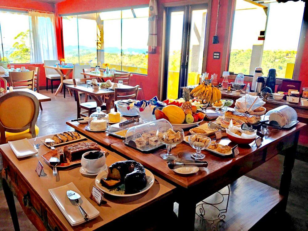 Pousada Loft da Serra - café da manhã