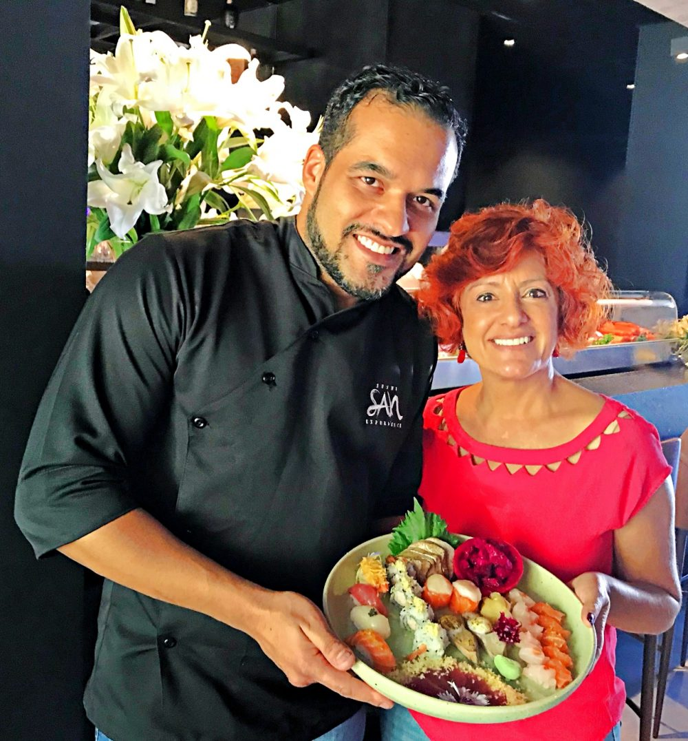 Sushi San Experience - Chef Edu Viana