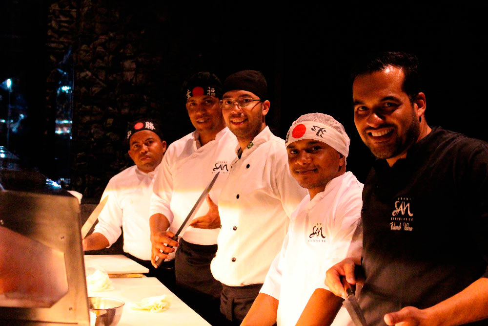 Sushi San Experience - equipe