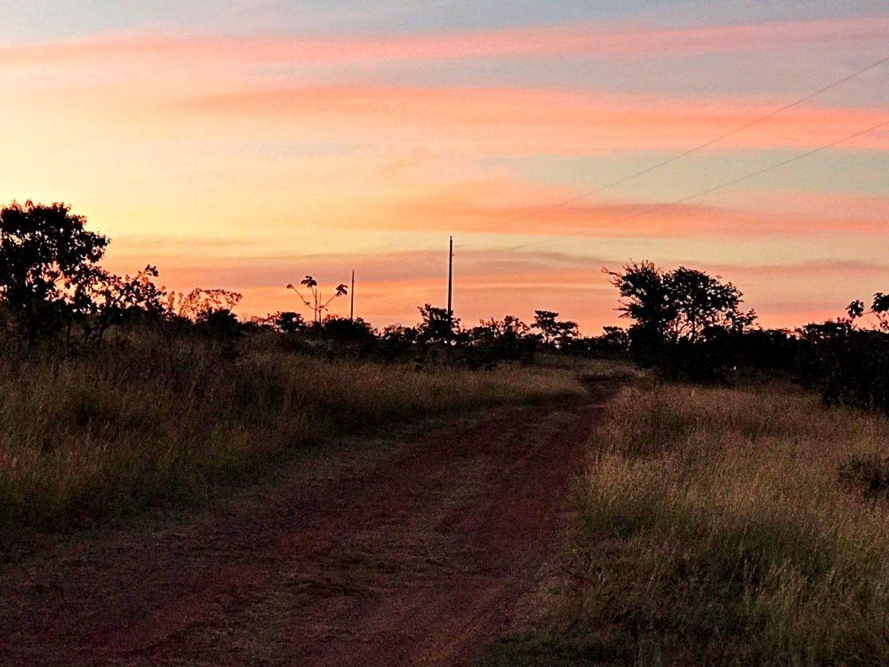 Fazenda Ercoara - pôr-do-sol