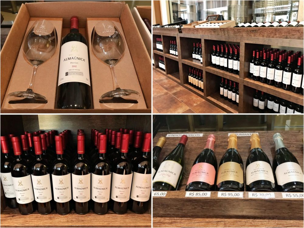 Almaúnica - vinhos