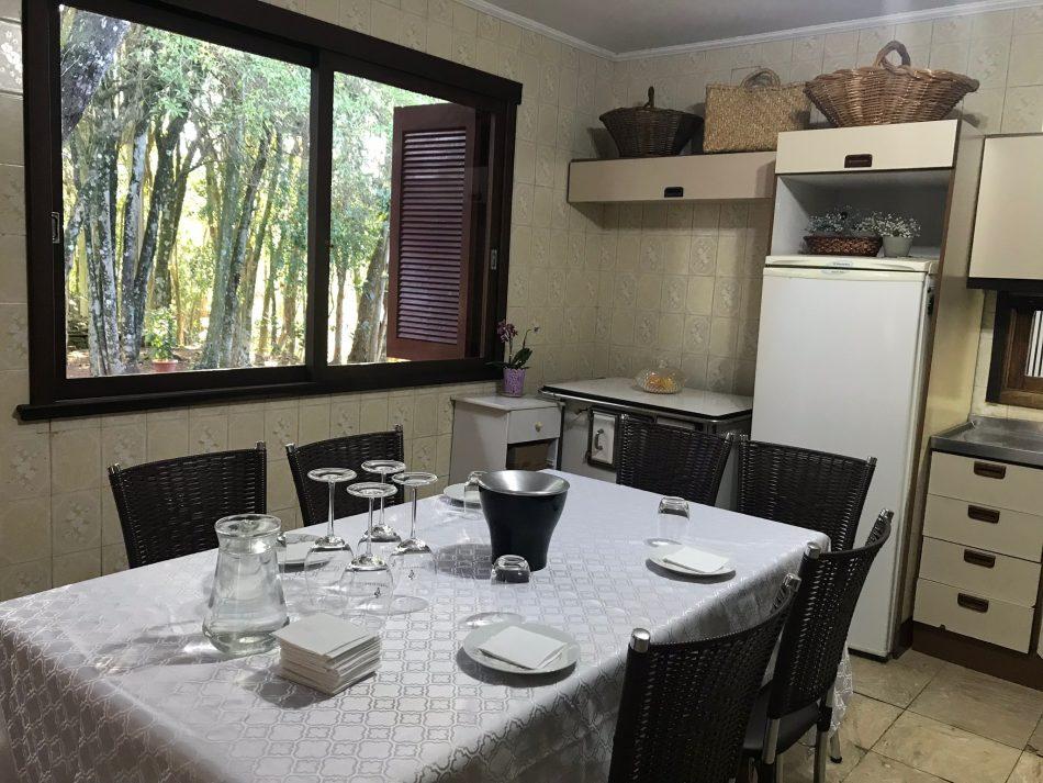 Vinícola Lidio Carraro - cozinha