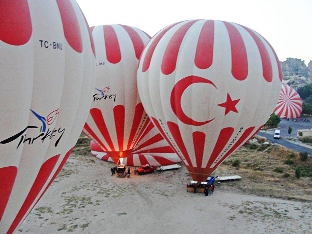 Turquia - Capadócia e seus balões