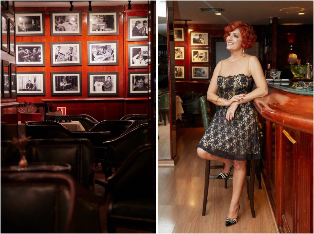 Restaurante Piantella - o bar com Sylvia Yano
