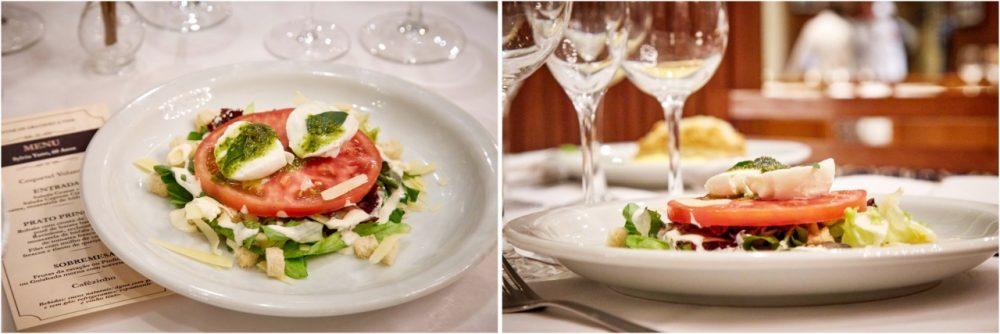Restaurante Piantella - salada caprese