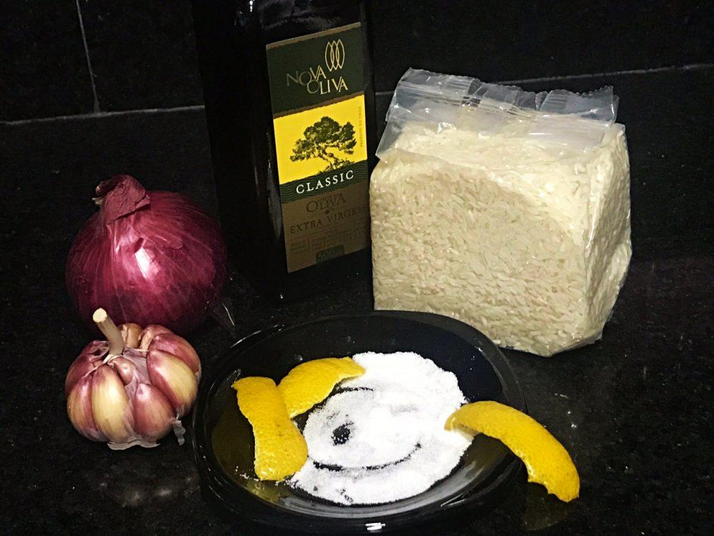 Arroz Jasmim - ingredientes