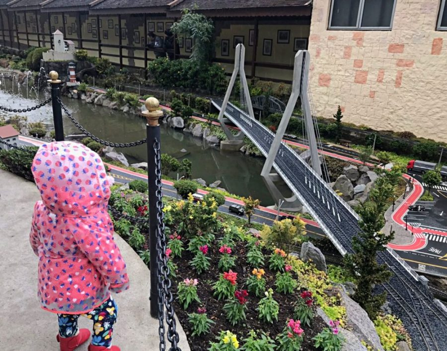 Mini Mundo Ponte sobre Lago