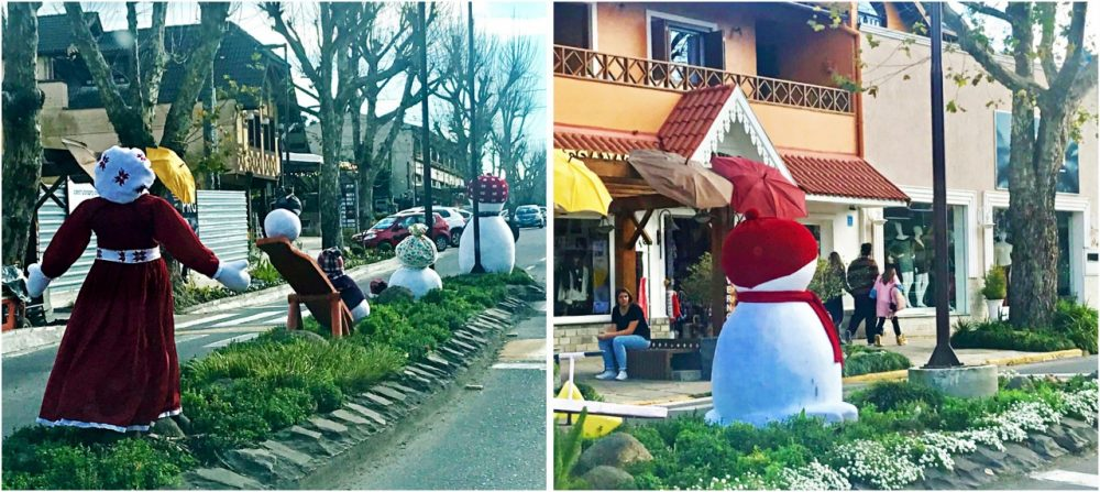 O que fazer em Canela - decoração de inverno