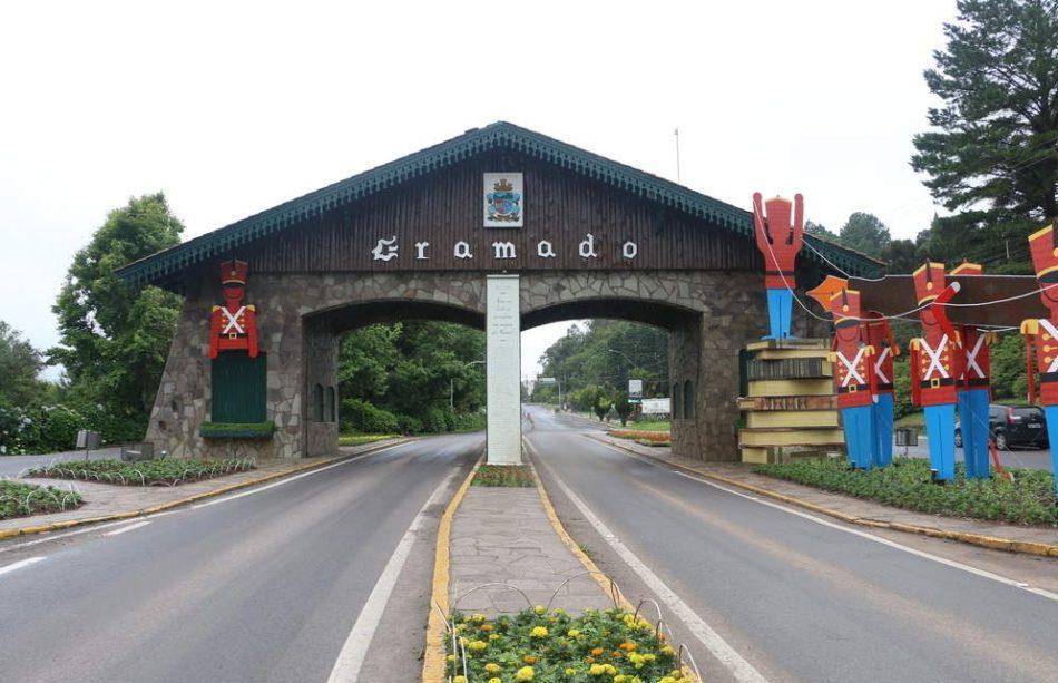 Pórtico de Nova Petrópolis - Gramado