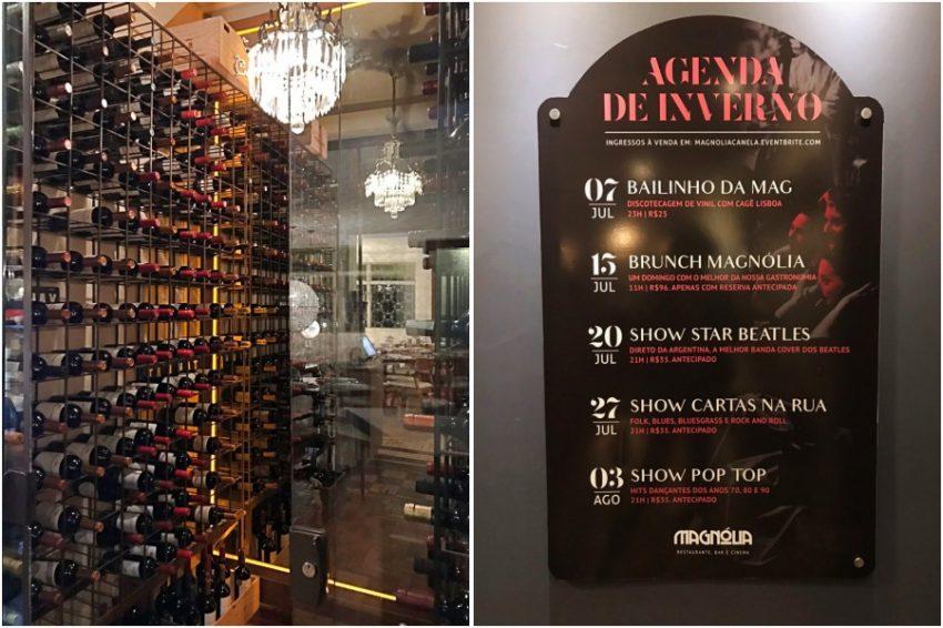 Restaurante Magnólia Canela - adega