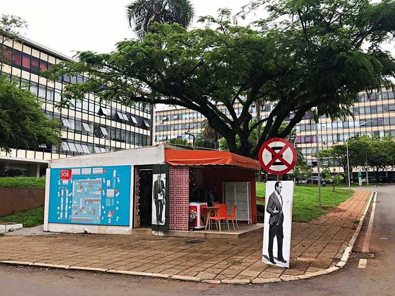 Atrações da quadra modelo 308 Brasília -Banca 308