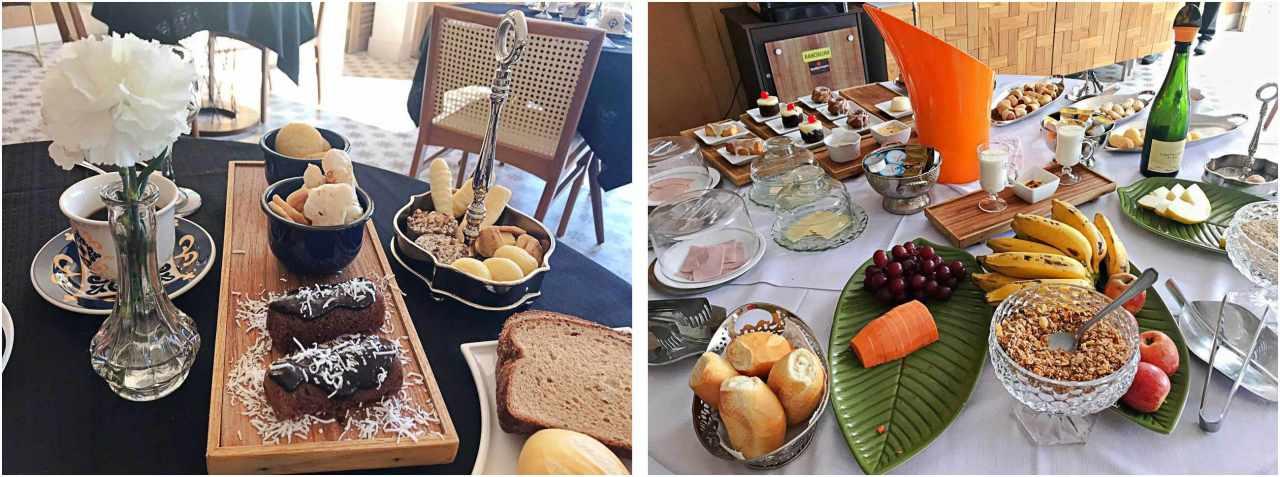 Dádiva Hotel Boutique, café da manhã - Pirenópolis