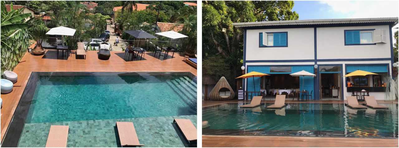 Dádiva Hotel Boutique, piscina - Pirenópolis