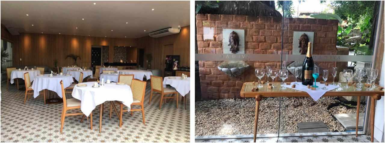 Dádiva Hotel Boutique, restaurante - Pirenópolis