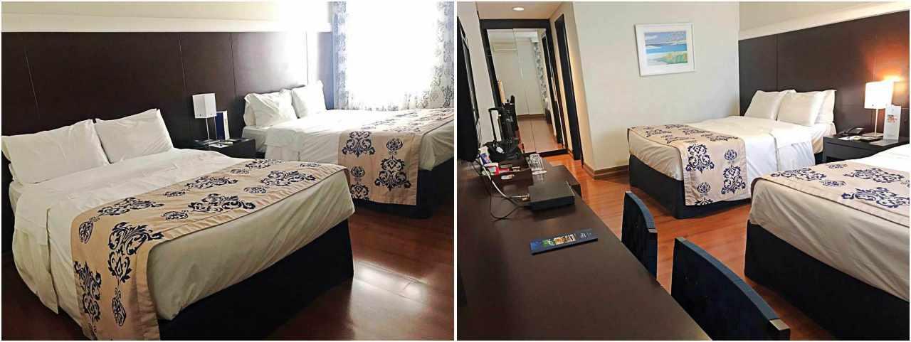 Onde se hospedar em Curitiba - Mabu Business Hotel, apartamento