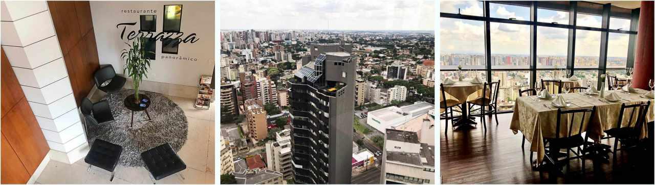 Terrazza 40 Onde Comi Melhor Em Curitiba Vista Panoramica