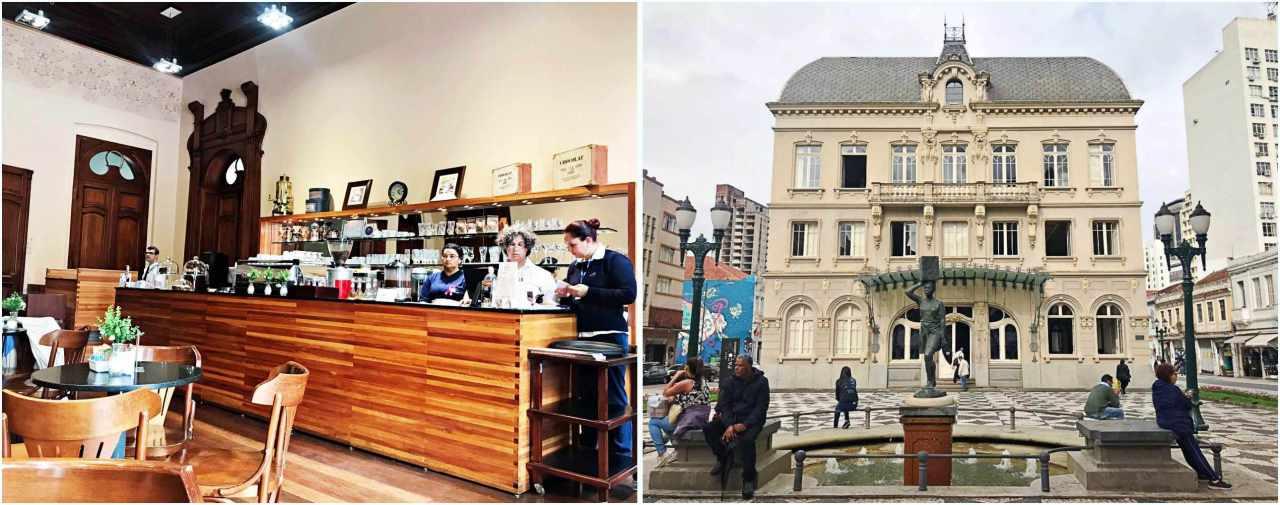 7 lugares onde comer doces em Curitiba - Café do Paço