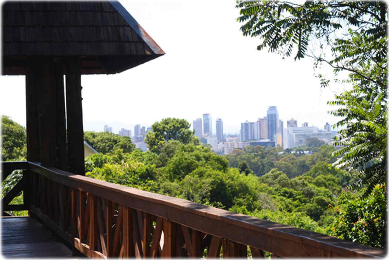 Curitiba Vista de Cima - Mirante dos Filósofos, Bosque do Alemão
