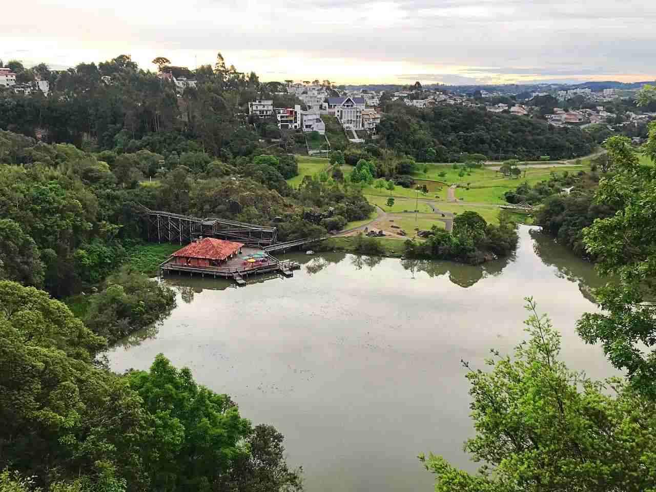 Curitiba Vista de Cima - Parque Tanguá
