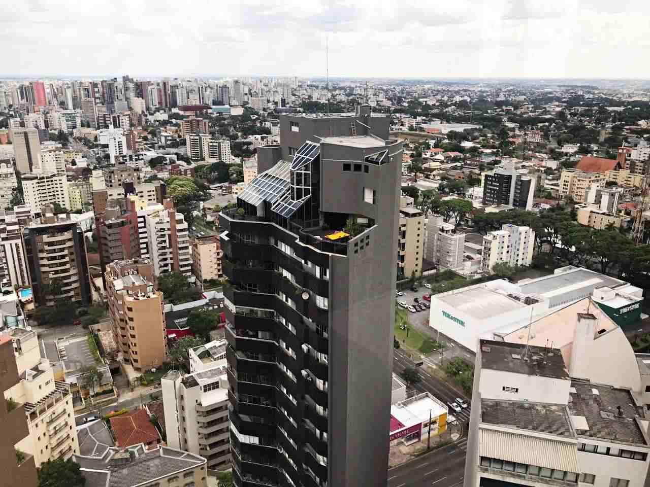 Curitiba Vista de Cima - Restaurante Panorâmico Terrazza 40