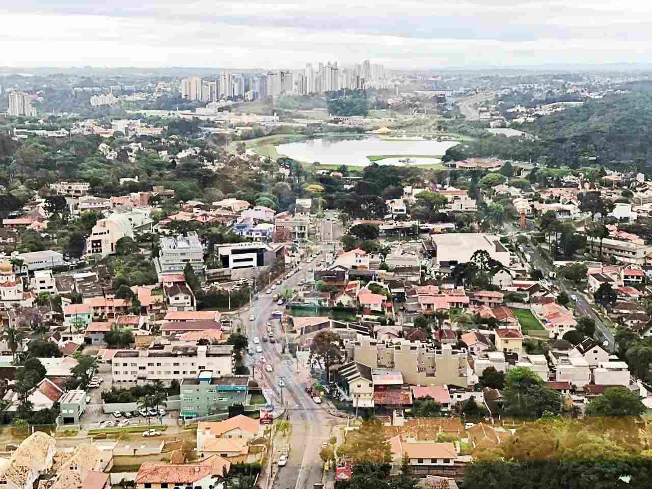 Curitiba Vista de Cima - Torre Panorâmica
