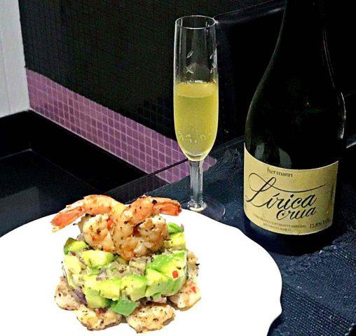 Tartar de abacate com camarão – receita