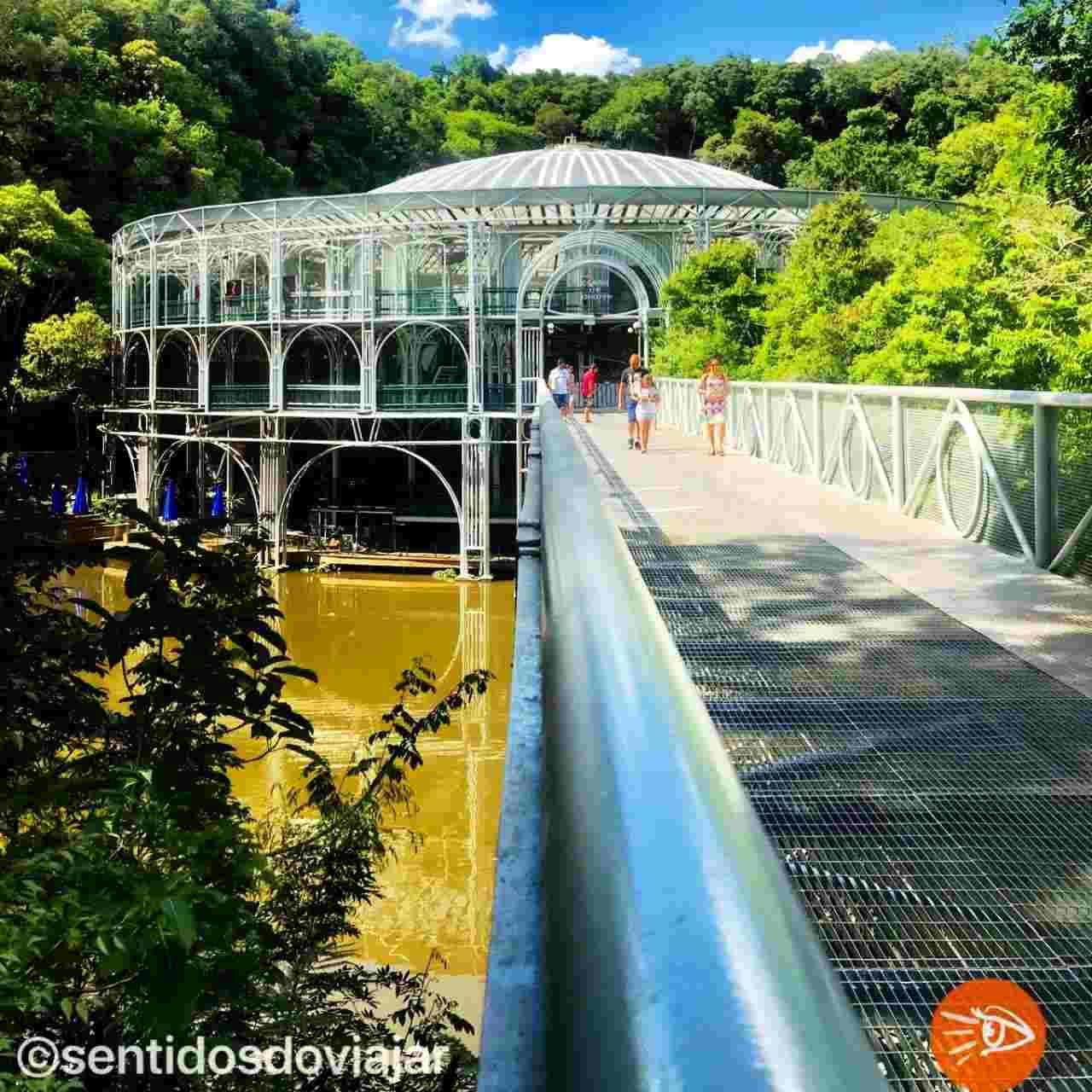 Como conhecer Curitiba em 42 atrações - Ópera de Arame