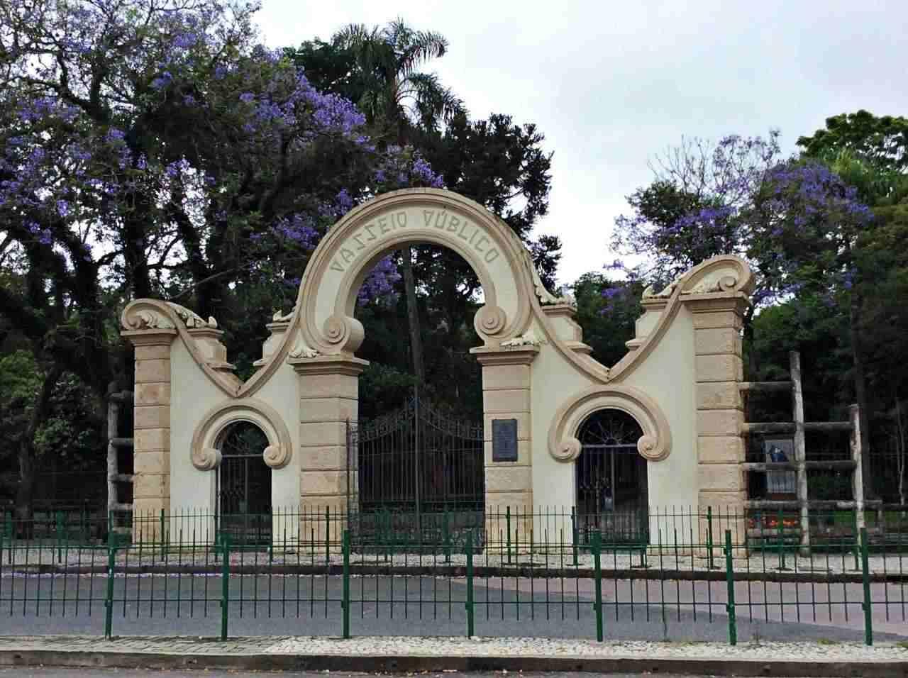 Portão Passeio Público -Curitiba
