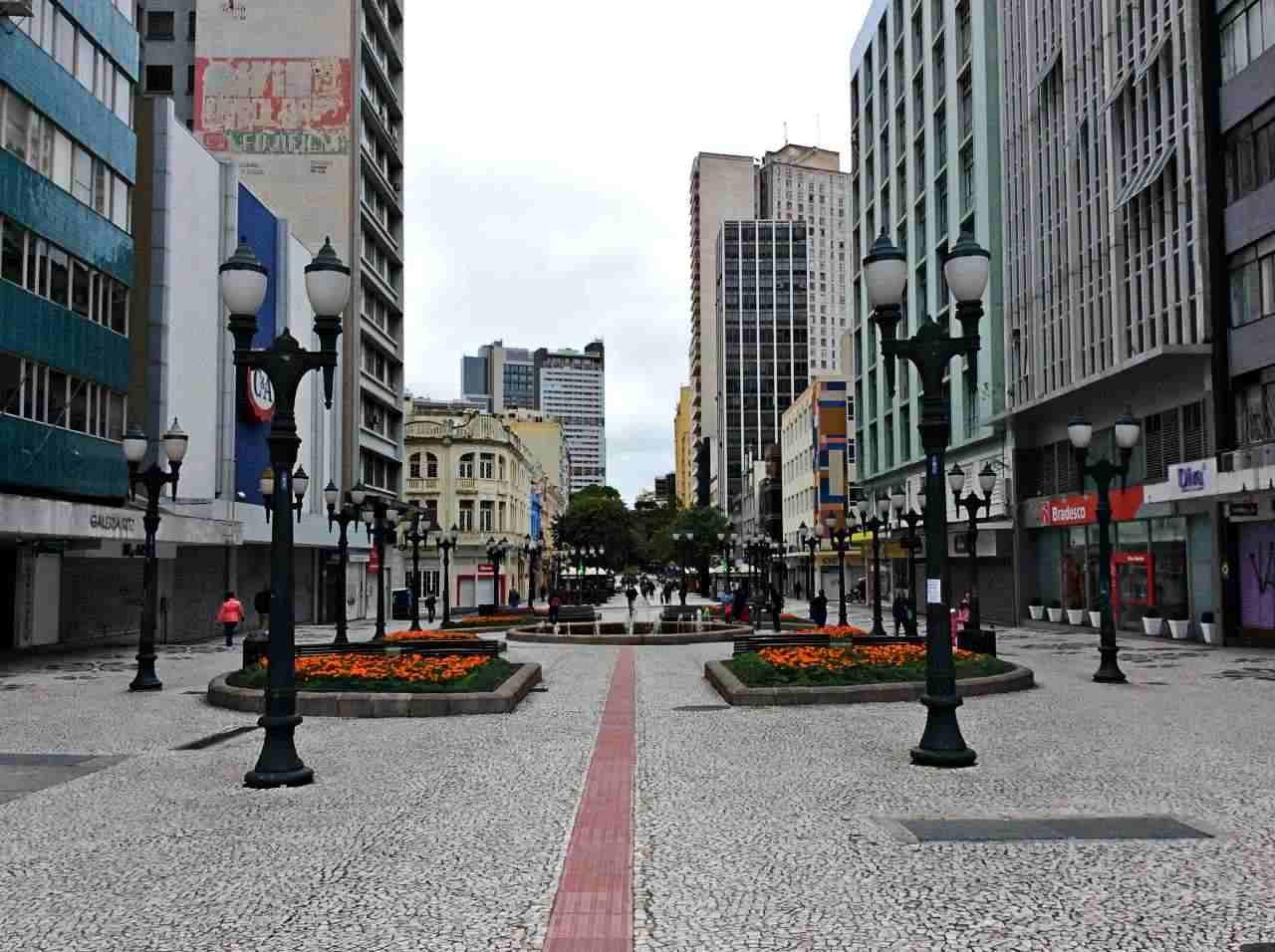Curitiba Rua ds Flores