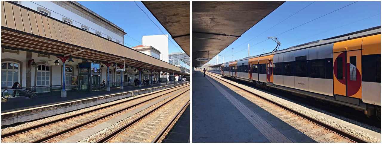 Estação de Trem Campanhã - O que fazer em Porto Portugal