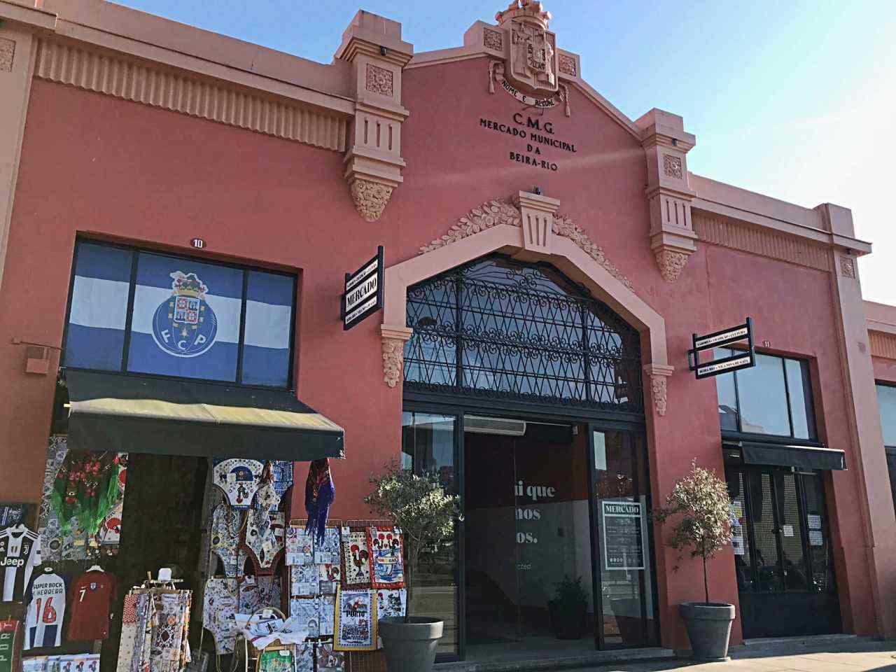 Mercado municipal - Vila Nova de Gaia