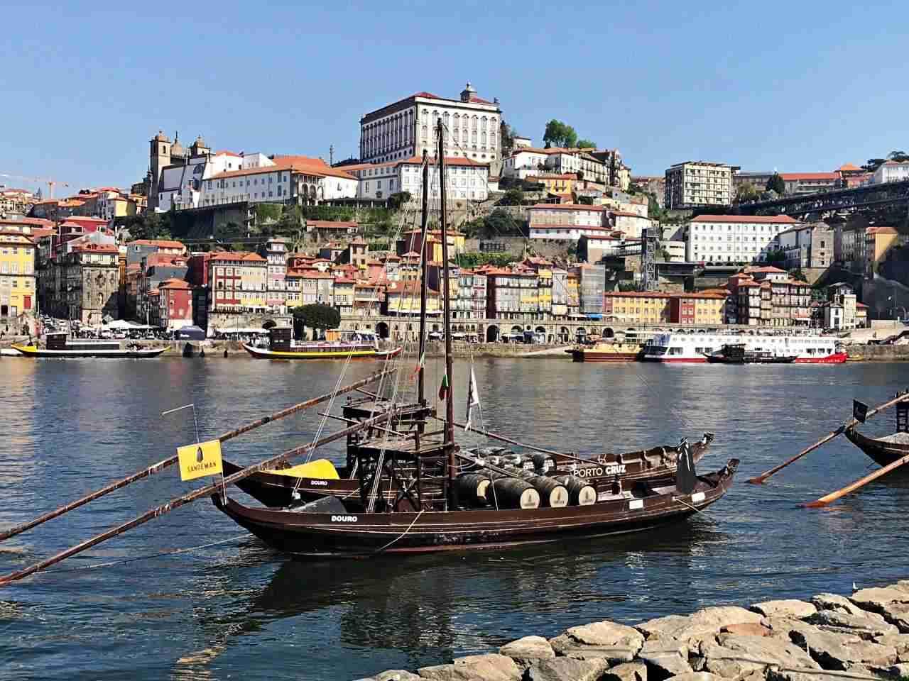 Vila Nova de Gaia - vista do Porto