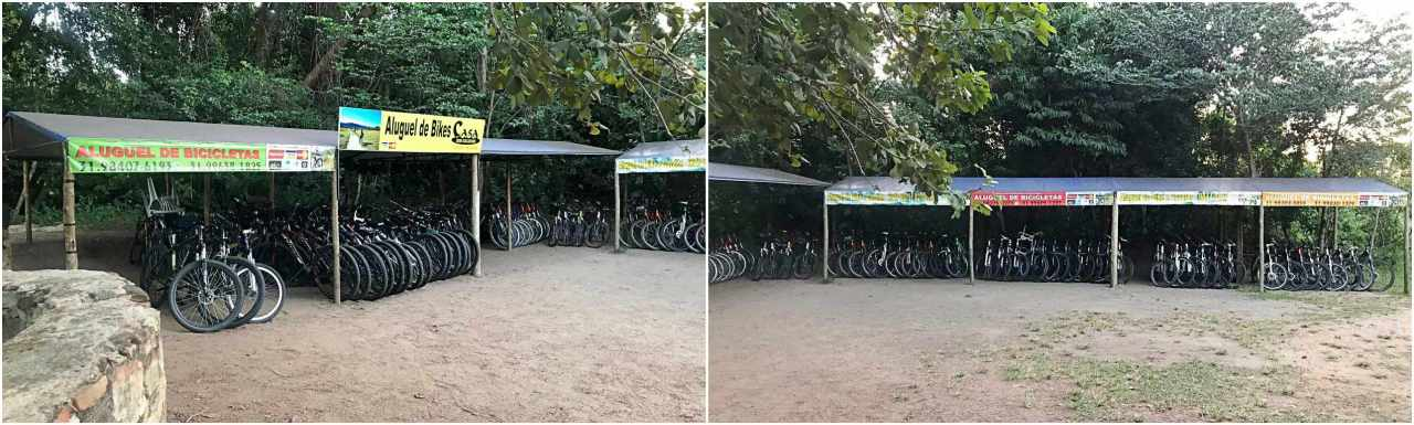 Trilha de Bikes - Parque Nacional