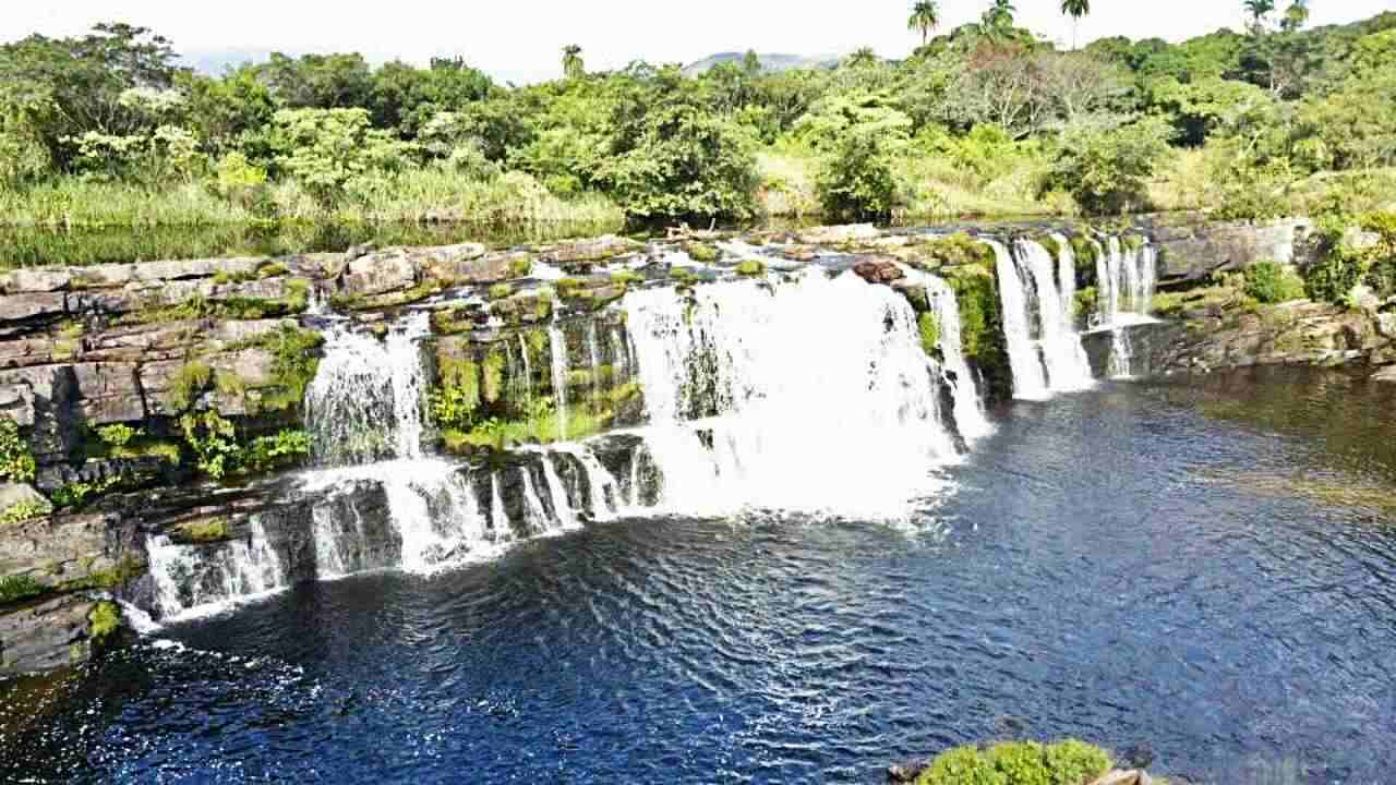 Cachoeira Grande - Serra do Cipó, Zareia