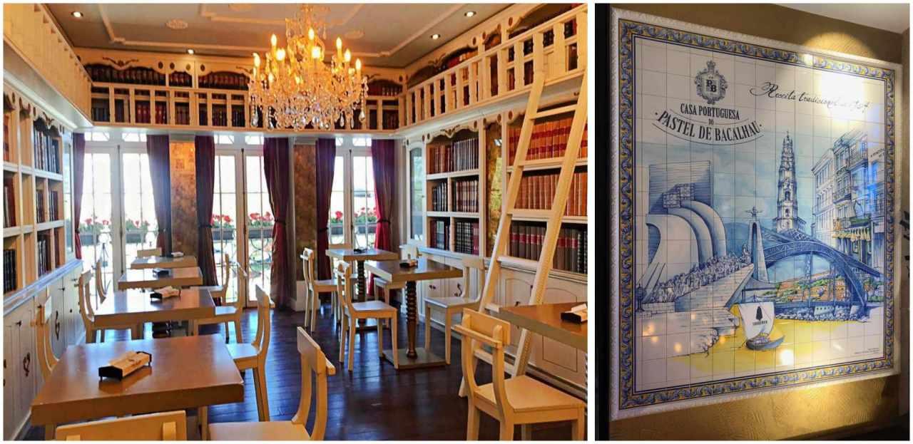 Casa Portuguesa Pastel de bacalhau - O que fazer em Porto Portugal
