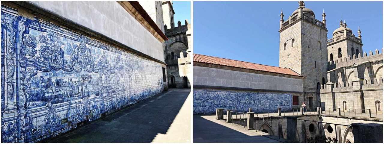 Piso Superior Catedral da Sé - O que Fazer em Porto Portugal