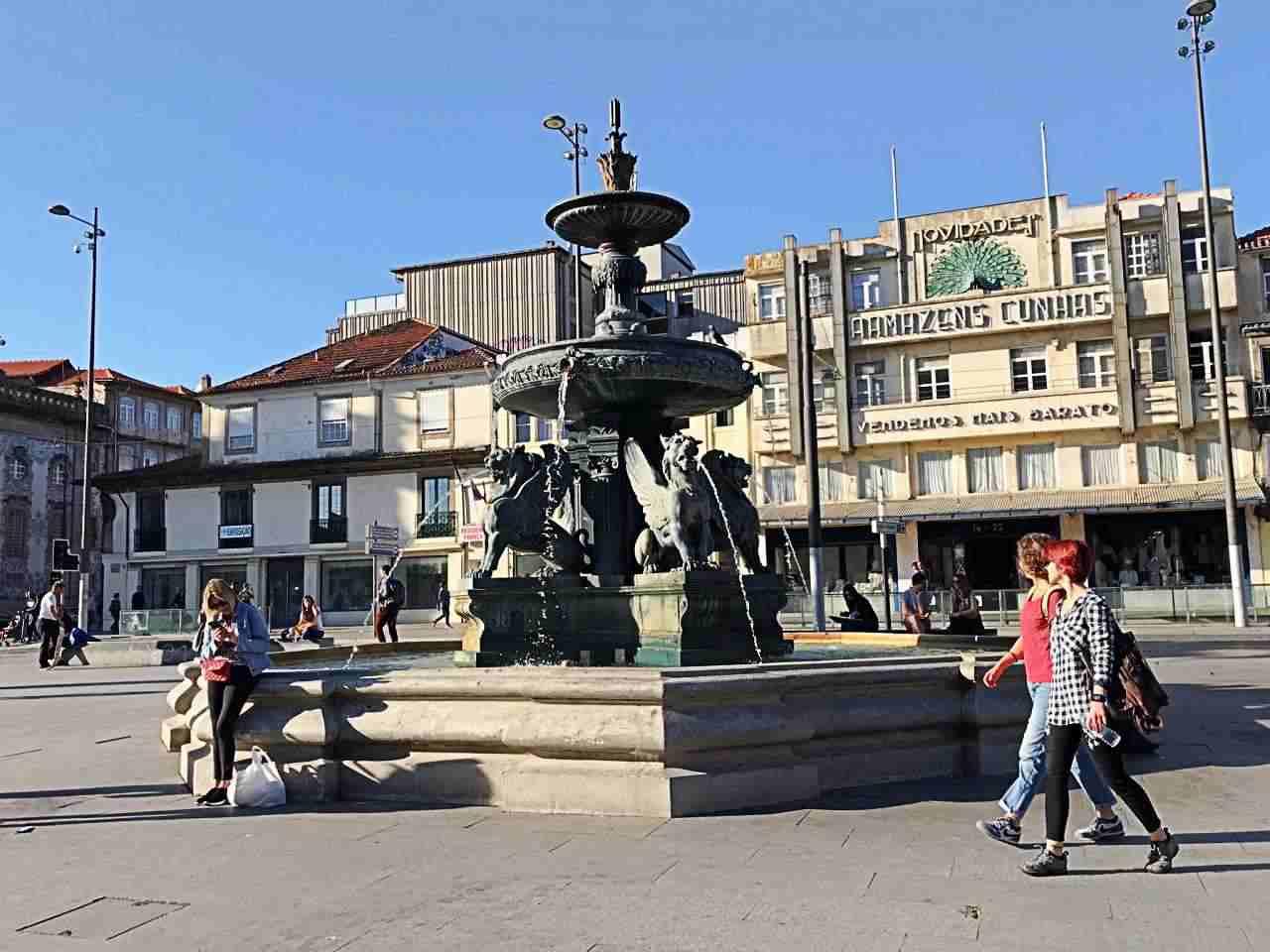 Fonte dos Leões - o que fazer em Porto Portugal